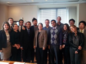 UC President Napolitano Meeting with Council of Presidents and UCSA guests